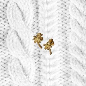 GOLD VERMEIL PLATED STUD EARRINGS